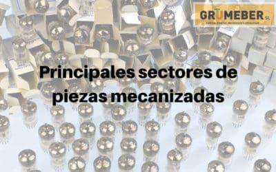 Principales sectores en los que hacemos piezas mecanizadas