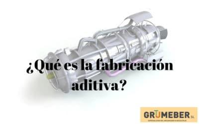 ¿Qué es la fabricación aditiva?