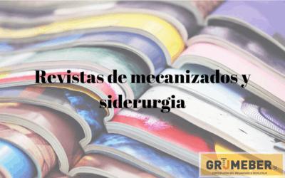 Revistas de mecanizados y metalurgia