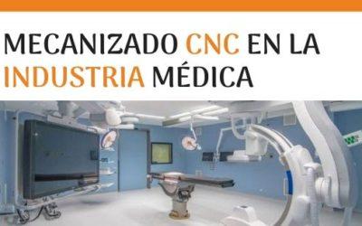 Mecanizado CNC en la industria médica